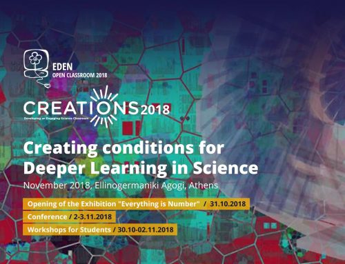 Announcement of CREATIONS 2018 final  conference